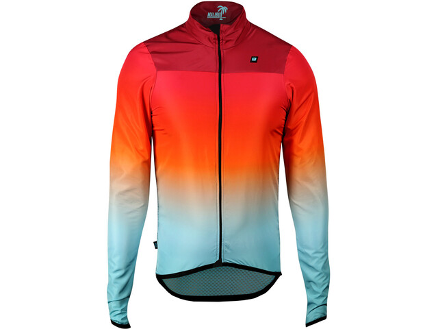 Biehler Ultralight Windstopp - Veste Homme - orange/bleu